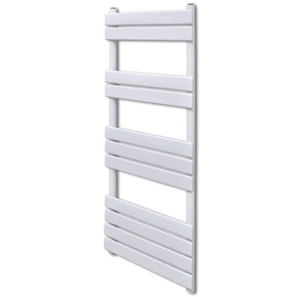 vidaXL Bathroom Central Heating Towel Rail Radiator Straight 600 x 1200 mm from vidaXL