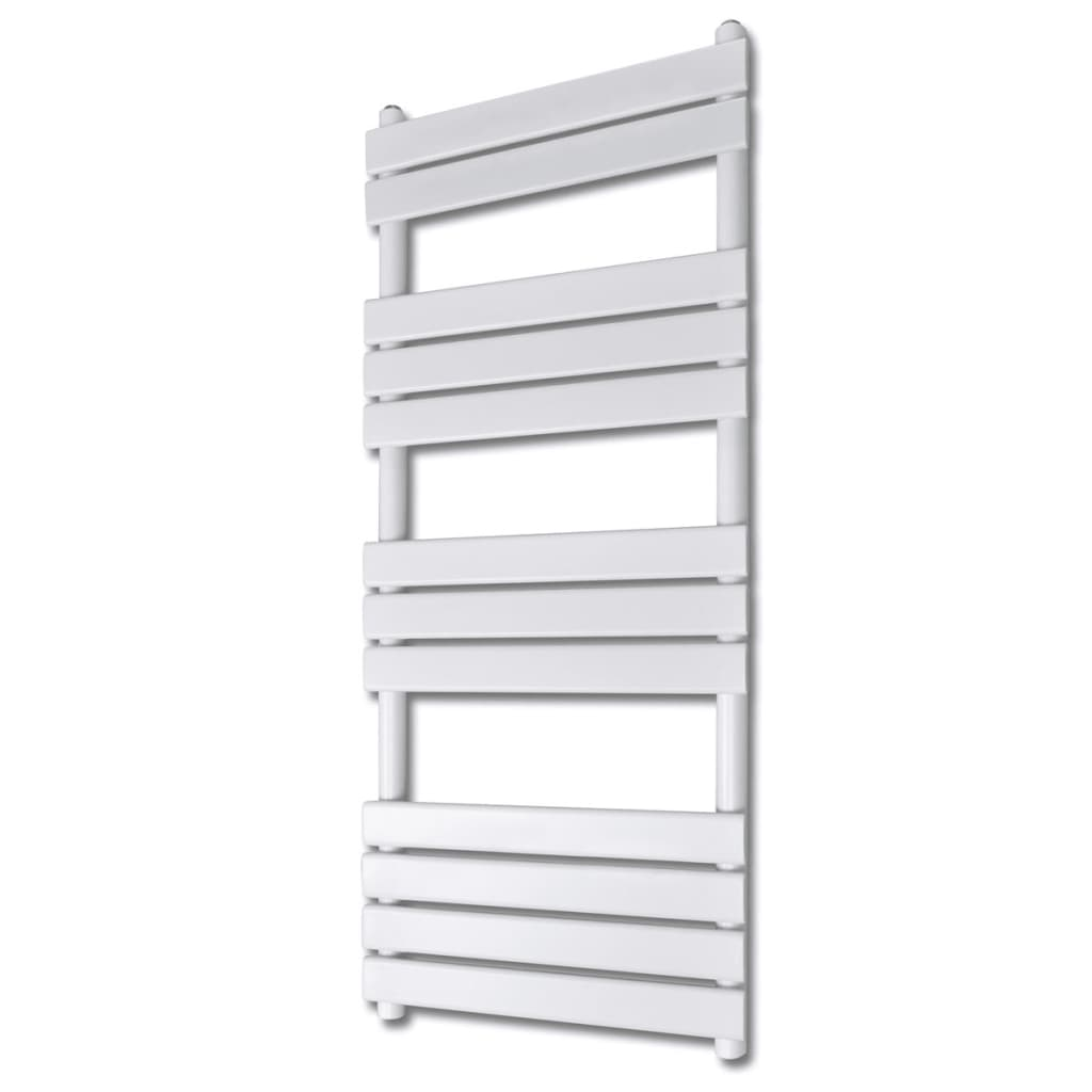 vidaXL Bathroom Central Heating Towel Rail Radiator Straight 600 x 1400 mm from vidaXL