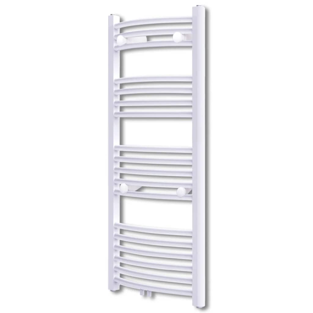 vidaXL Bathroom Radiator Central Heating Towel Rail Curve 600 x 1160 mm from vidaXL