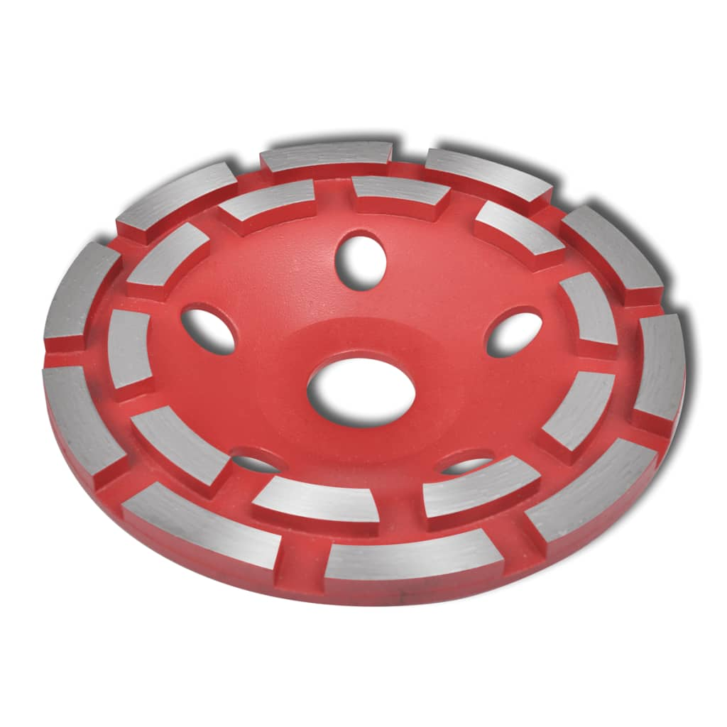 vidaXL Diamond Grinding Cup Wheel Double Row 180mm from vidaXL