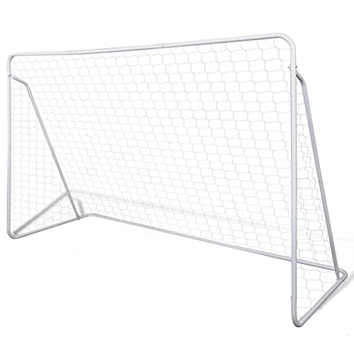 vidaXL Football Goal Soccer Goal Net/Post Football Equipment Sporting Steel Frame from vidaXL