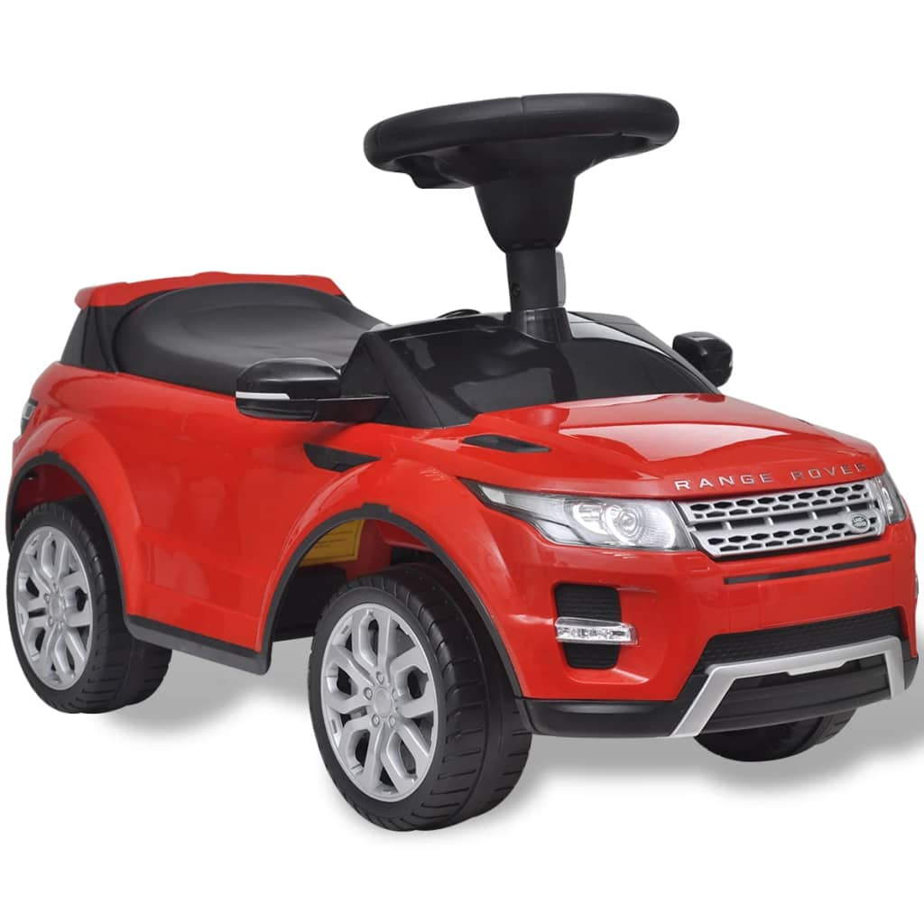 vidaXL Land Rover 348 Kids Ride-on Car with Music Red from vidaXL