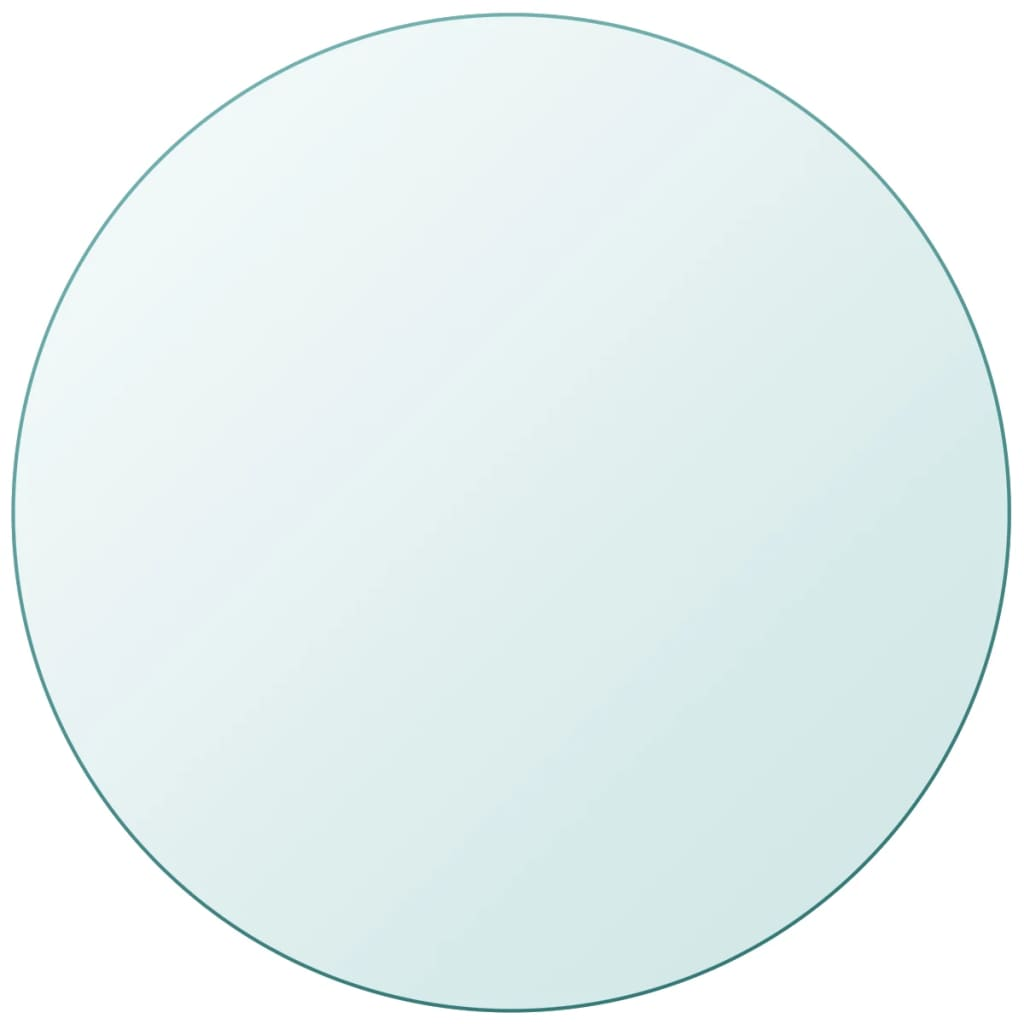 vidaXL Table Top Tempered Glass Round 500 mm from vidaXL