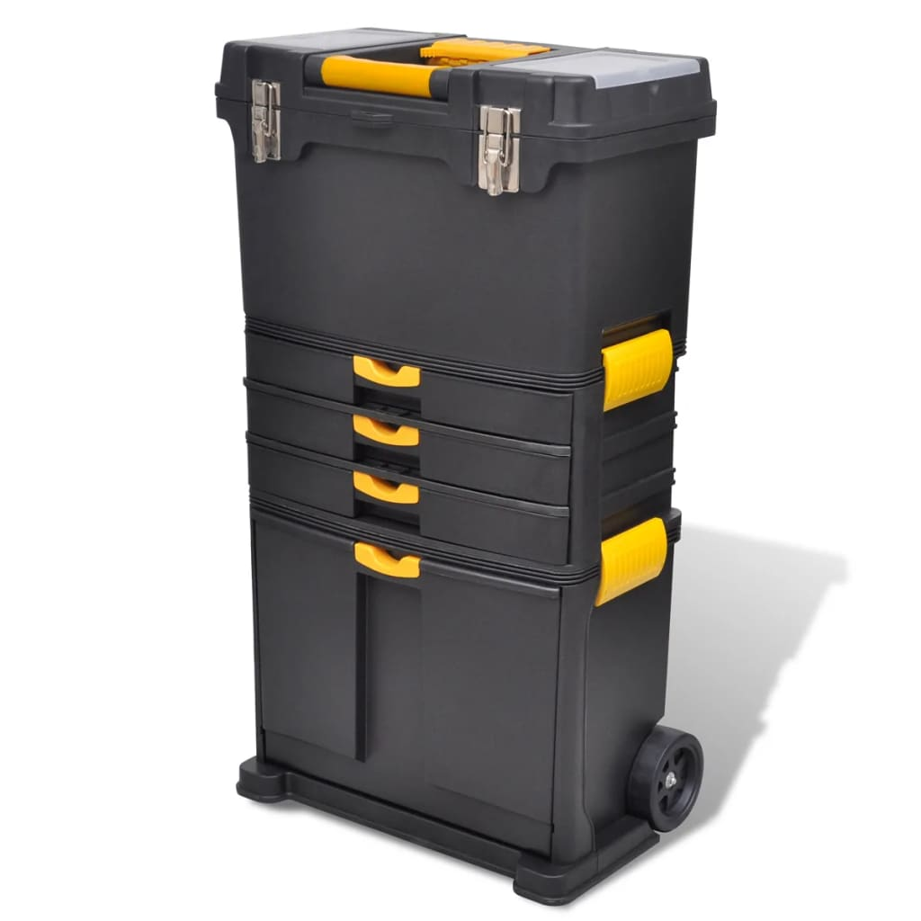 vidaXL Tool Case Chest Tool Trolley Portable from vidaXL