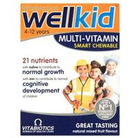 WellKid Multi-Vitamin Smart Chewable Tablets 30 from Vitabiotics
