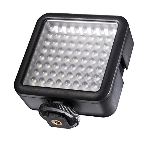 walimex Pro LED Video Light with 64 LED for GoPro and DSLR Camera from walimex