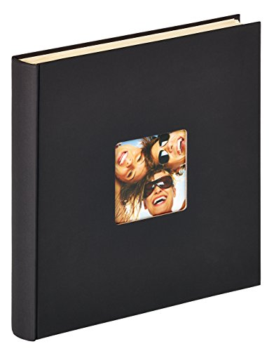 Walther Photo Album, Textured paper, Black, 33 x 33.5 x 4.5 cm from Walther