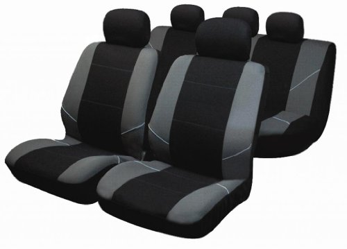 MERC A CLASS W169 05 on Black Front Waterproof Nylon Car Seat Covers Protectors